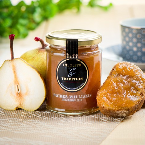 Confiture de poire william